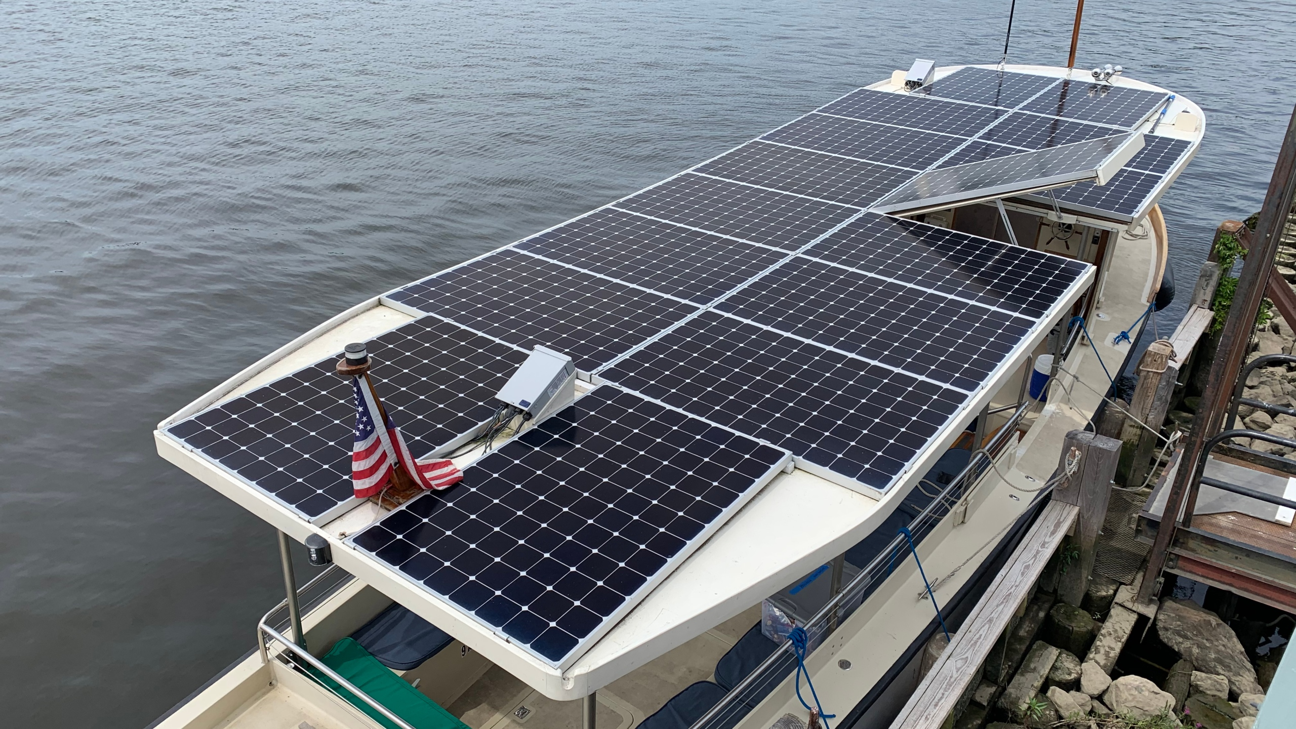 solar powered vessel Solaris