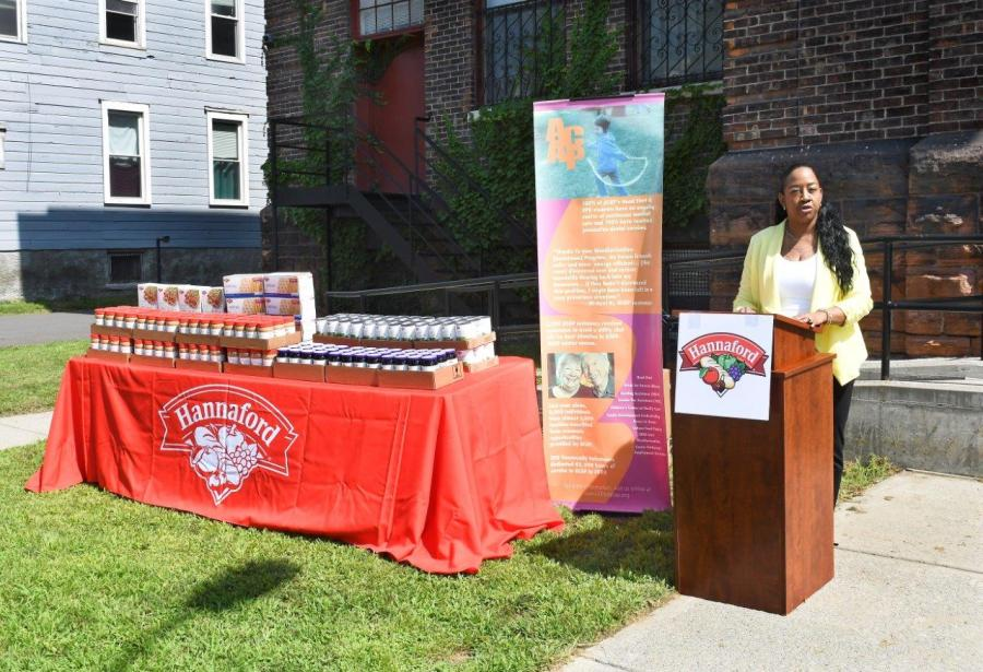 Albany Community Action Partnership Executive Director Neenah Bland
