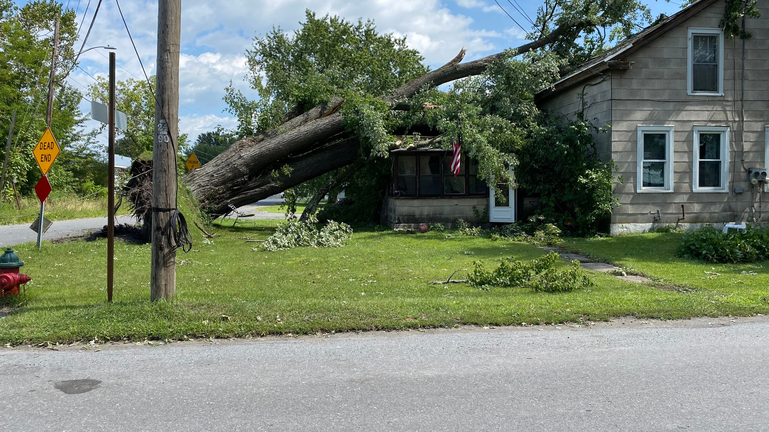 Whitehall Storm Damage Clean Up