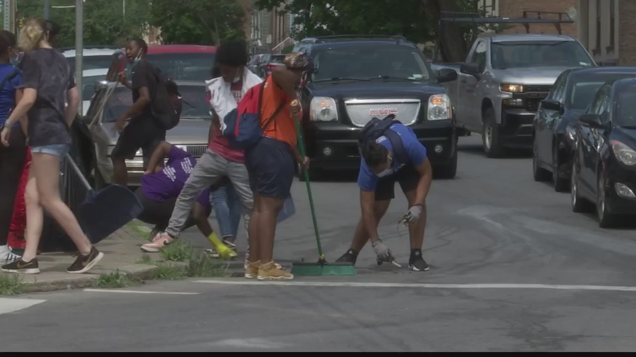 Local youth cleanup Albany's 3rd Ward 08062020