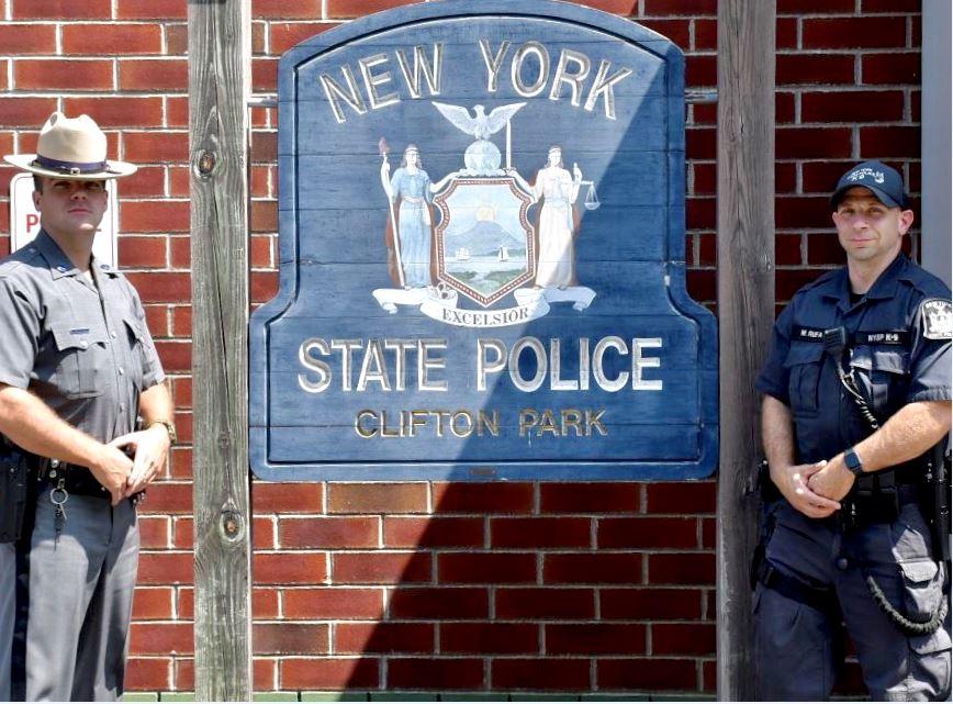 Trooper Kyle Conlon and Trooper Matthew Rufa
