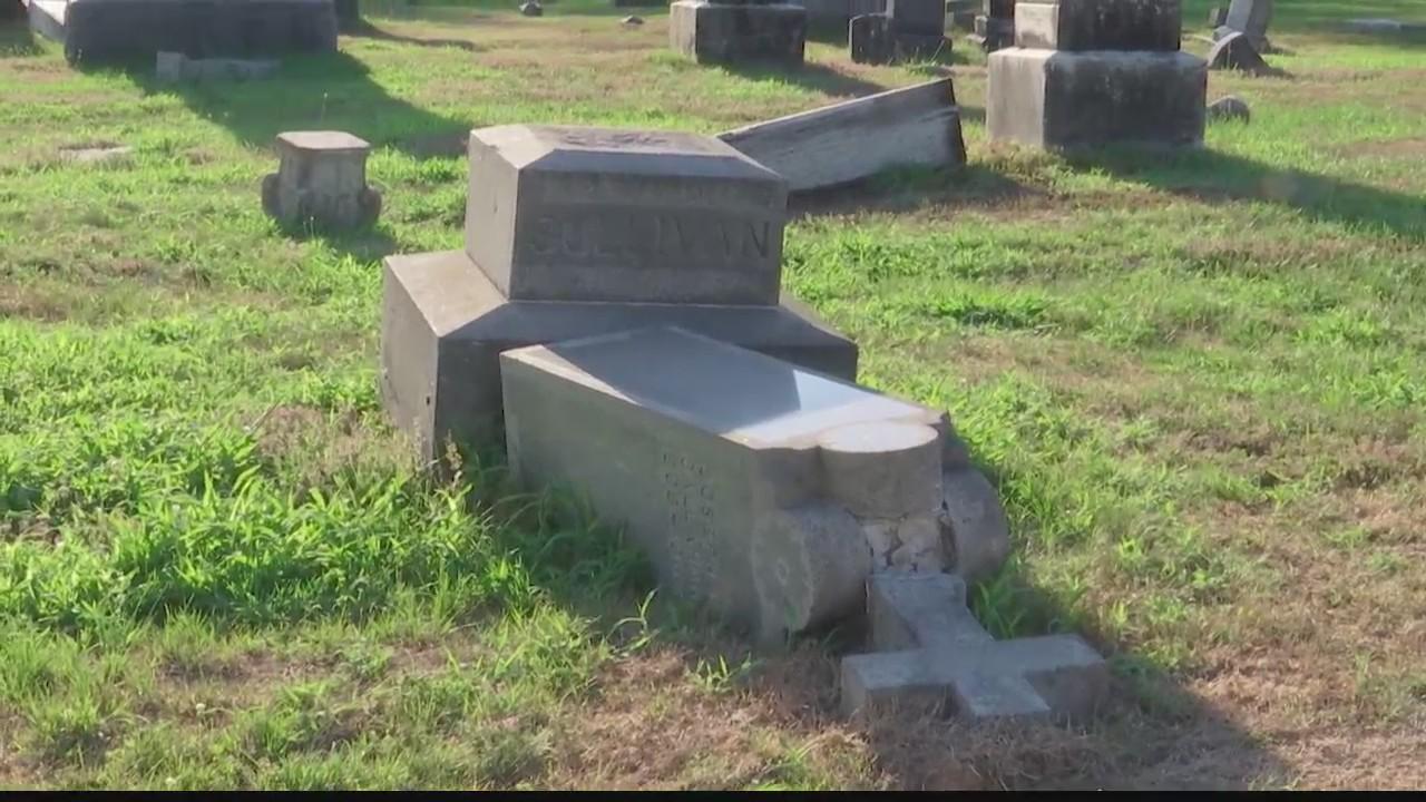 schaghticoke cemetery vandalism