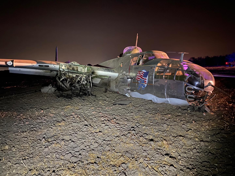 Old Glory WWII plane crash