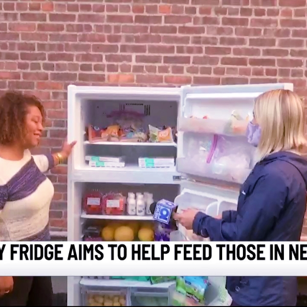 Community fridge aims to help those in need