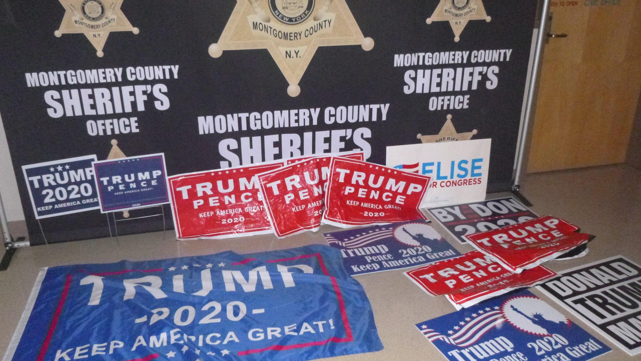 Stolen Campaign Signs