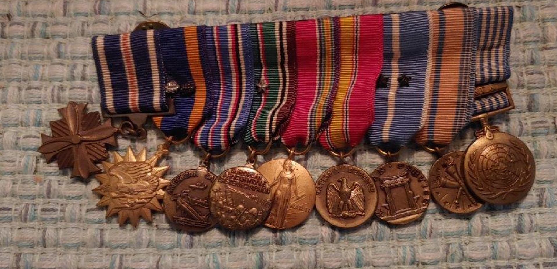 A WWII hero's family plead for stolen war medals to be returned
