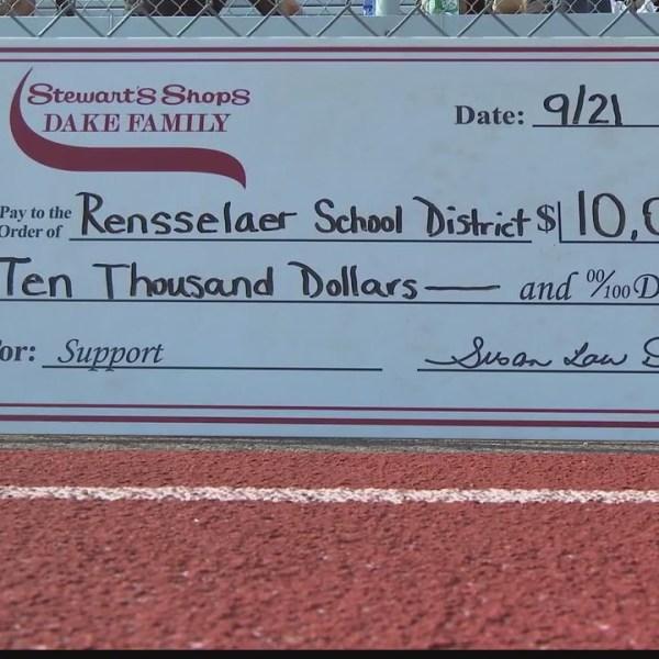 Stewart's donates to Rensselaer athletics