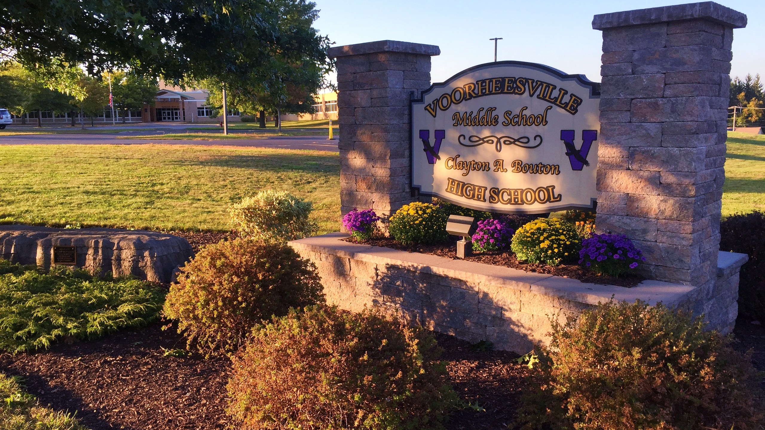 Voorheesville Middle School Clayton A. Bouton High School