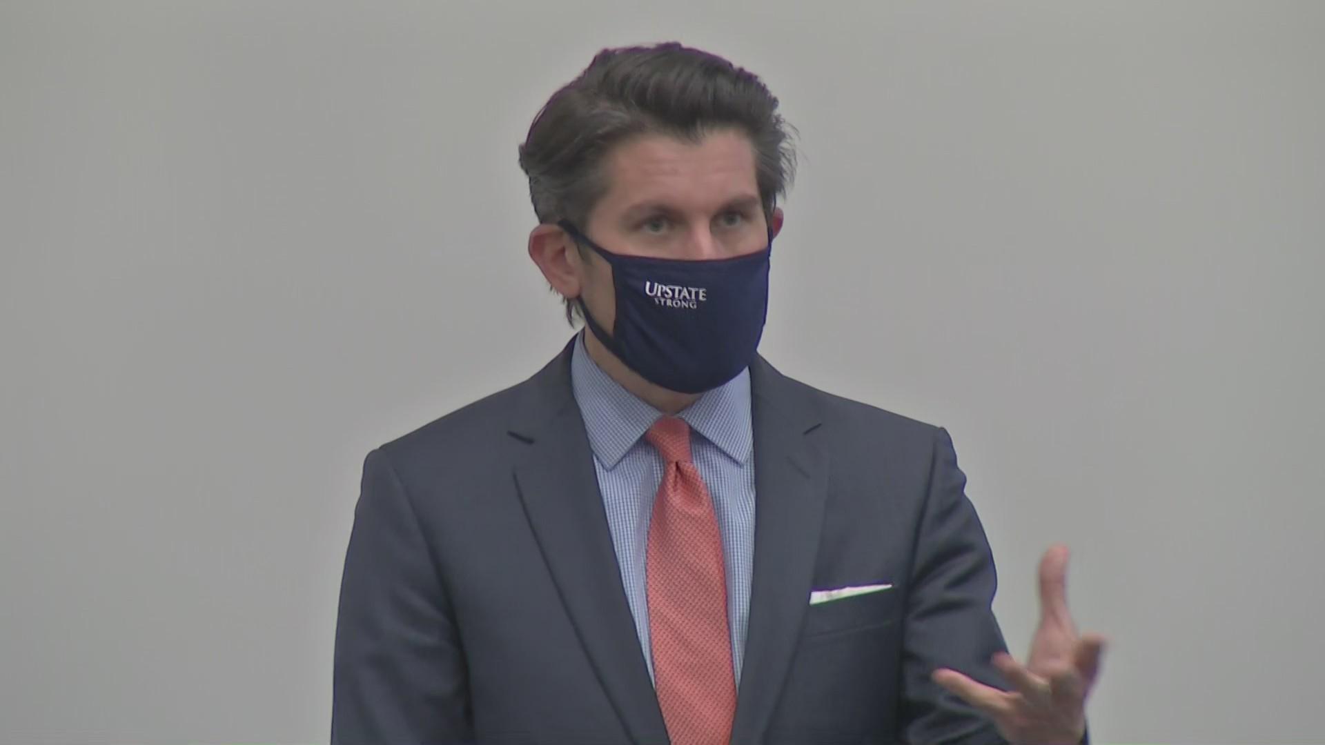 SUNY Chancellor Jim Malatras