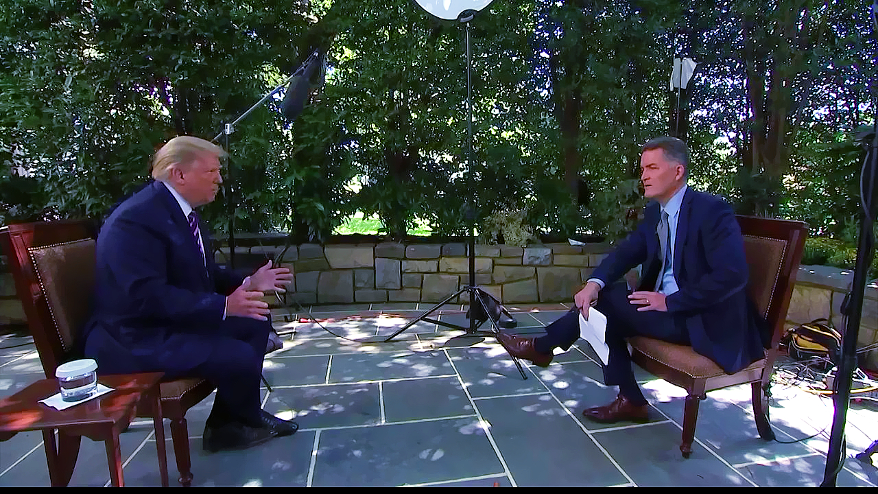 Exclusive News Nation interview with President Donald Trump