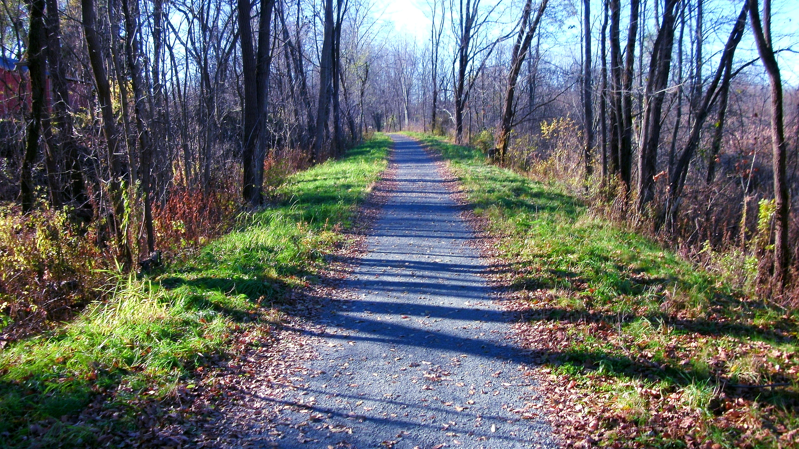 ortion of the Zim Smith Trail in Saratoga County