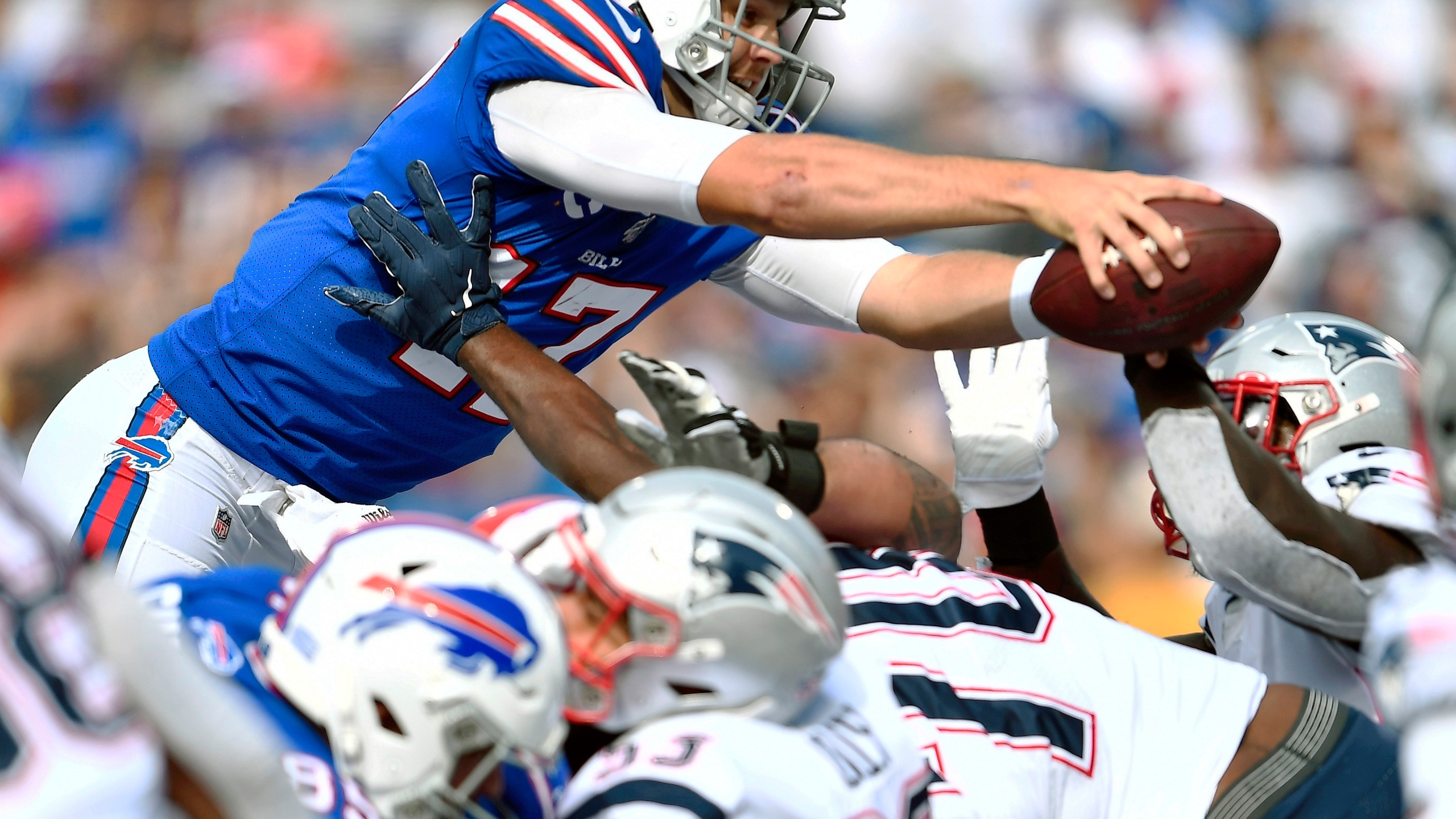 Why 2019 Loss To New England Was A Turning Point For Bills Qb Josh Allen News10 Abc