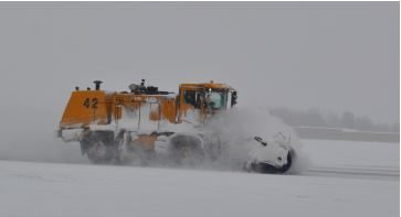 Albany Airport snow plow
