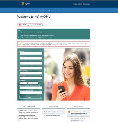 DMV Text Scam