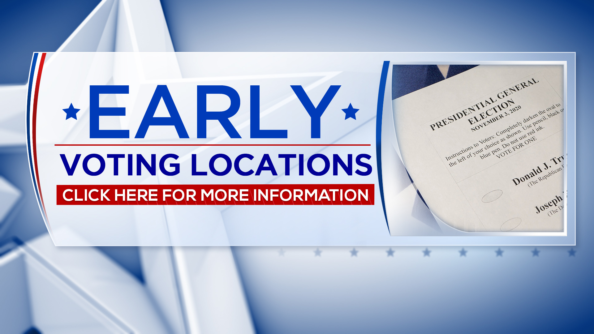 Early Voting Locations