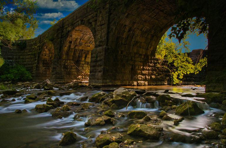 """Butternut Creek Aqueduct"""