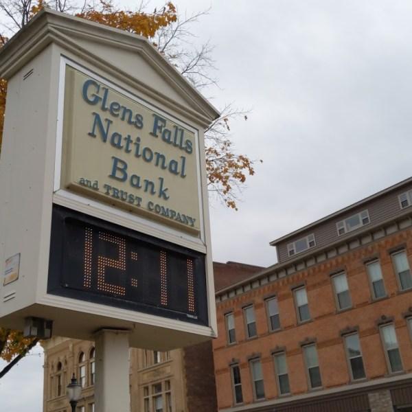 glens falls national bank sign