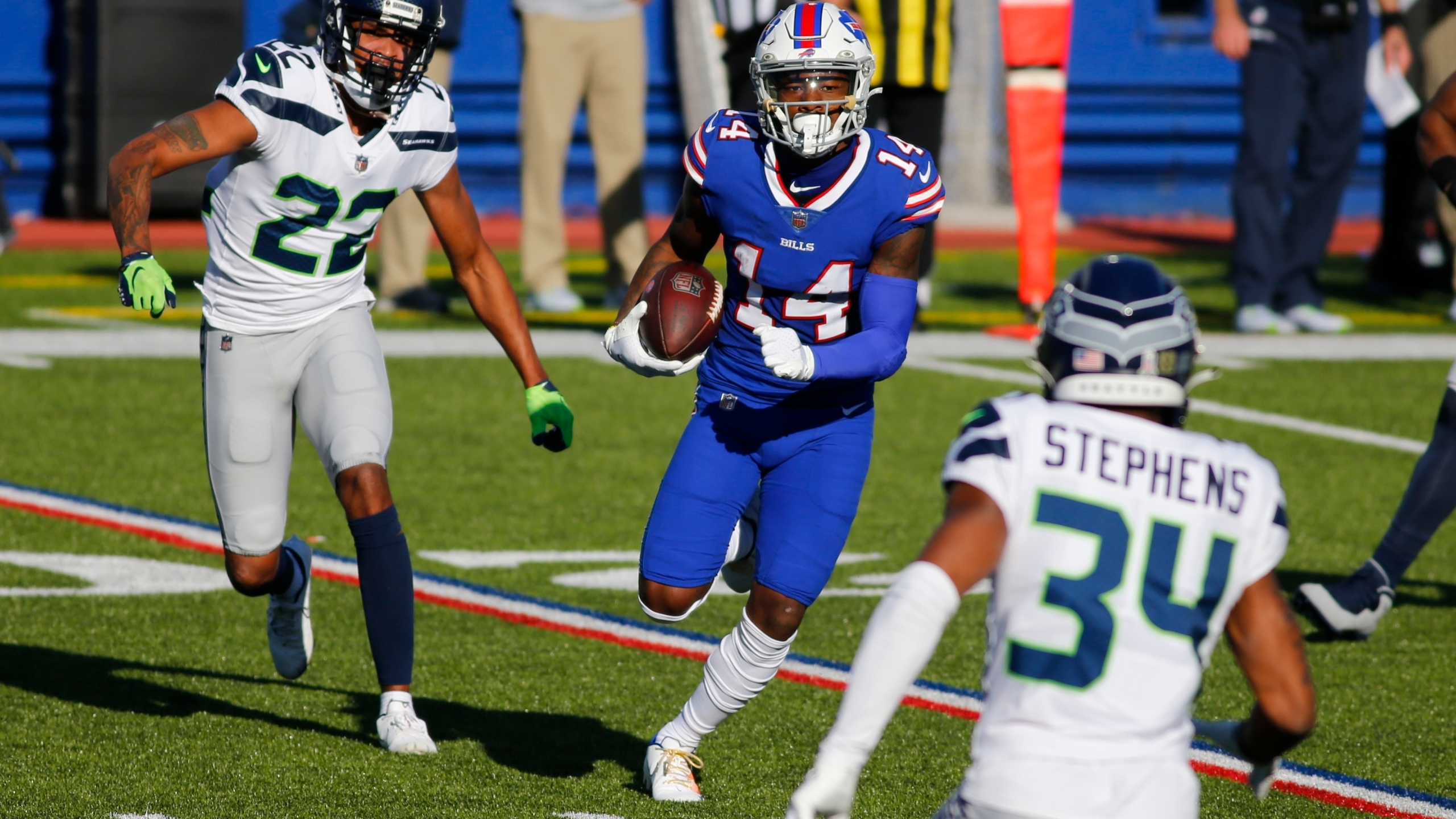 Bills Wr Stefon Diggs Is Trying To Carry Over What He Learned In Minnesota To Buffalo News10 Abc