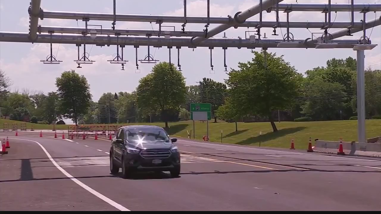 Cashless tolling to begin along the NYS Thruway