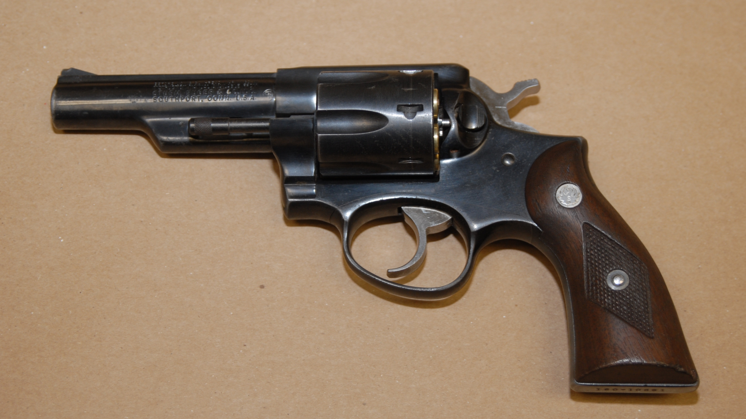 Revolver recovered from 16 year old suspect on Quail Street.