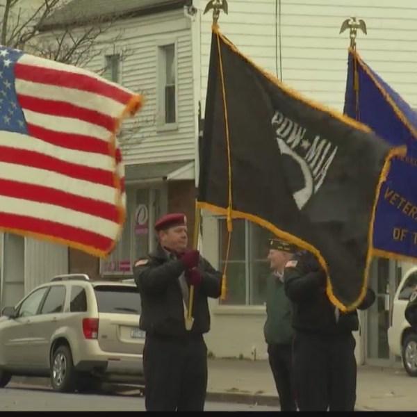 albany veterans day parade