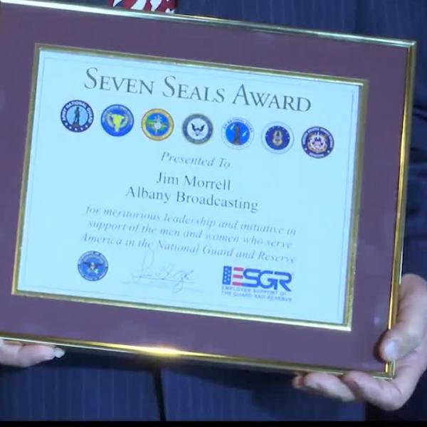 jim morrell seven seals award