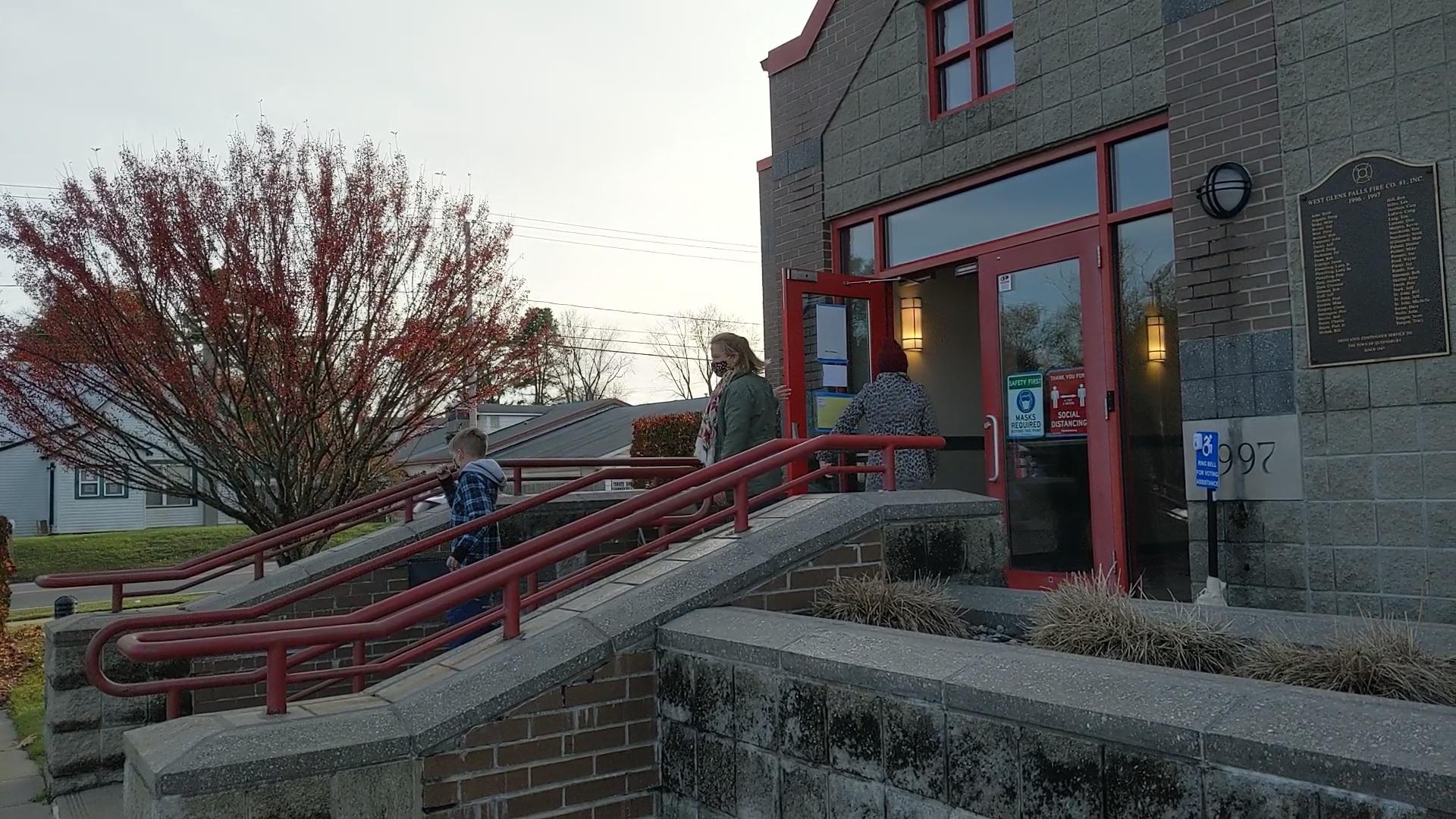 glens falls fire house voting