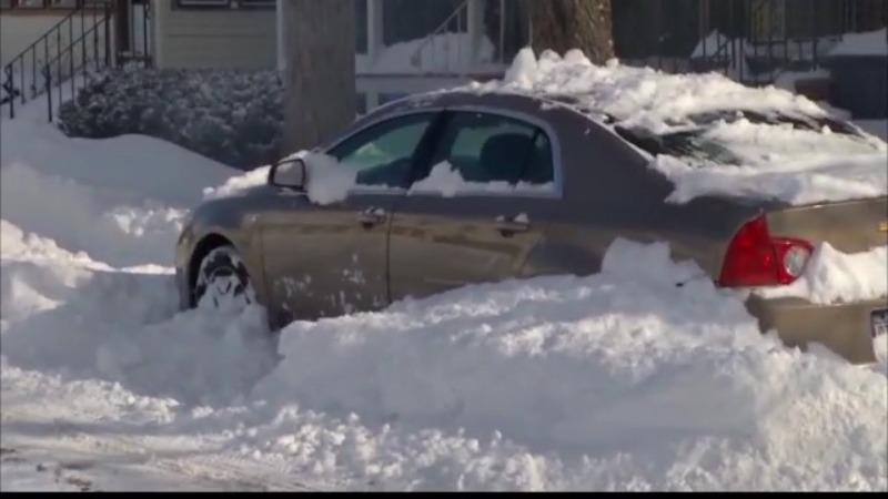 winterize car snowfall