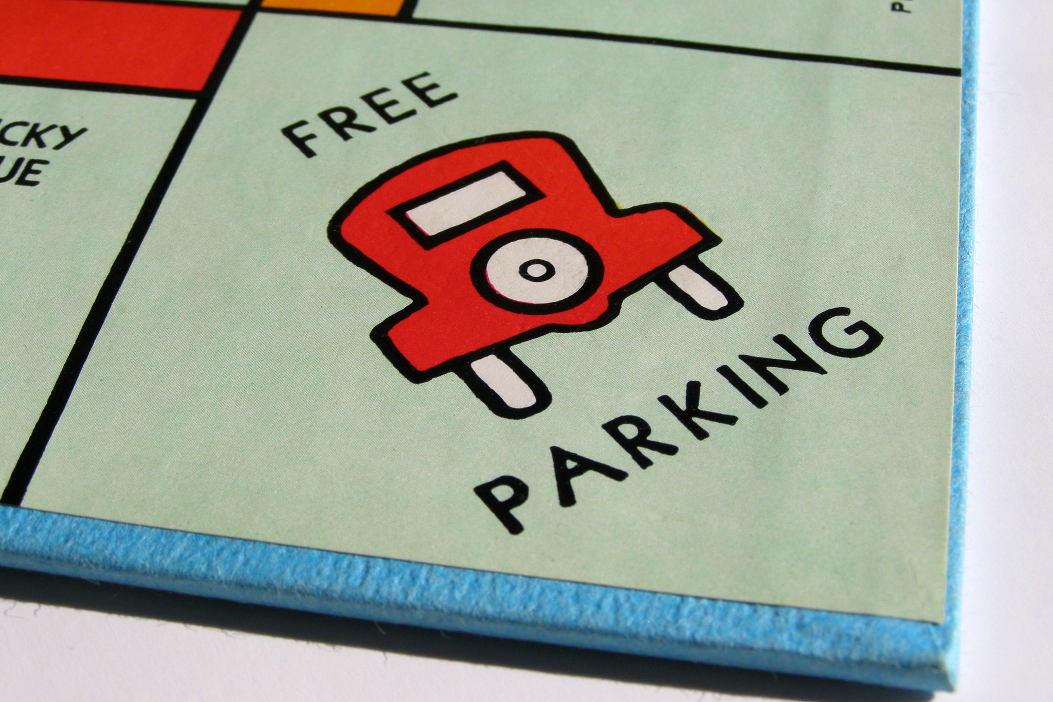 """Monopoly's """"free parking"""" space"""