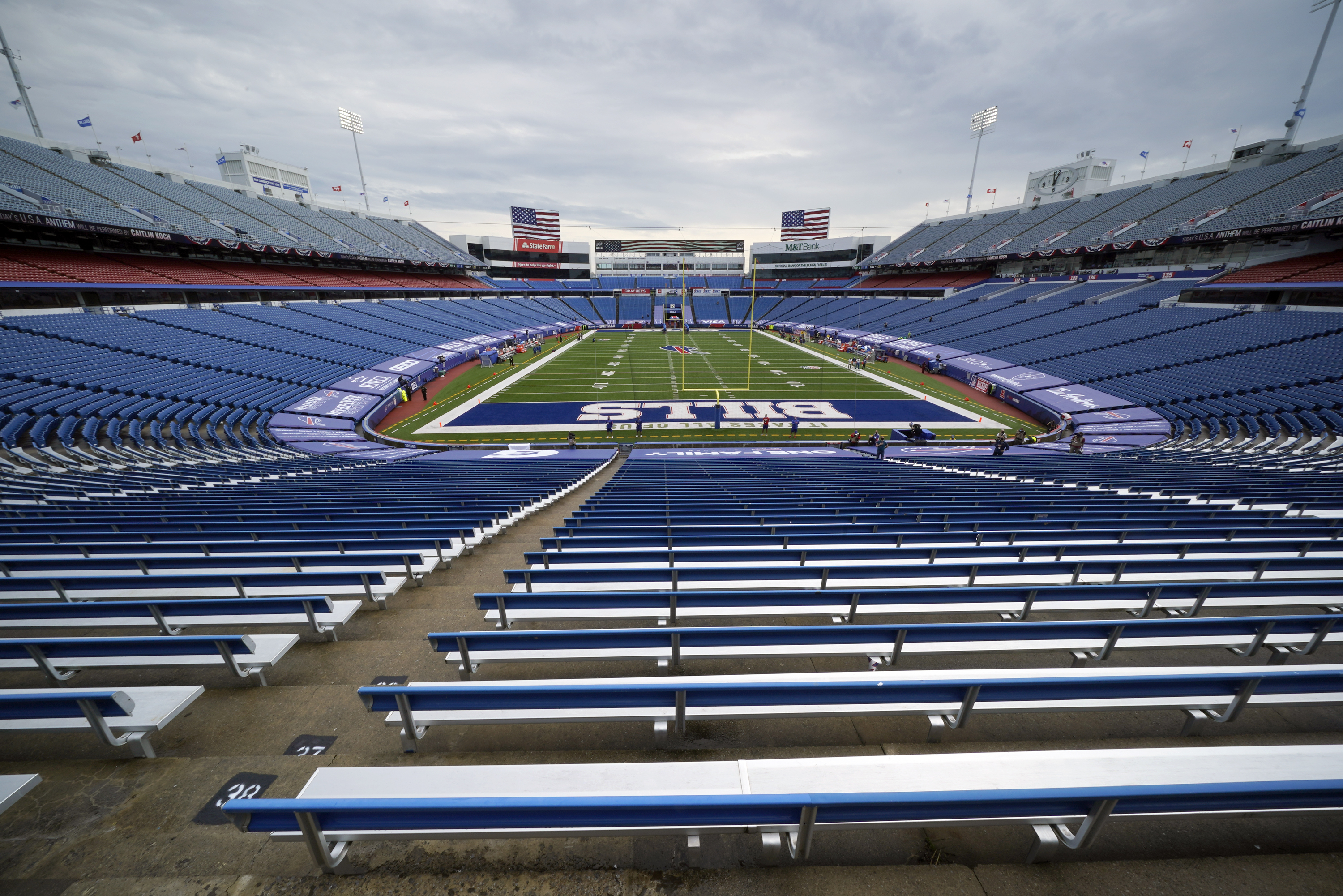 New York Reviewing Buffalo Bills Plan For 6 700 Fans To Attend Potential Playoffs
