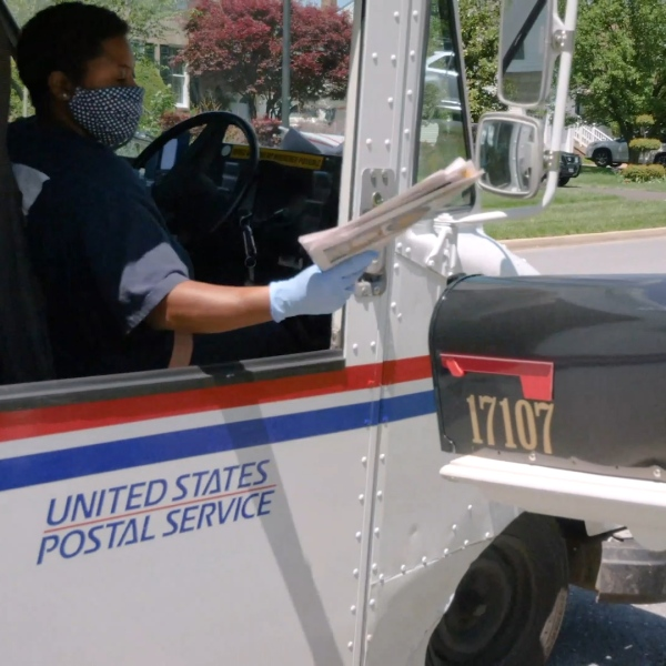 Postal Services seeing an increase in mail and packages