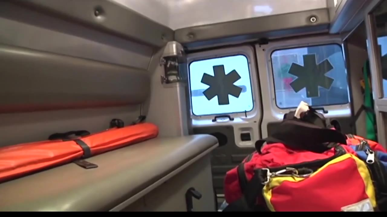 ambulance 911 EMS first responder