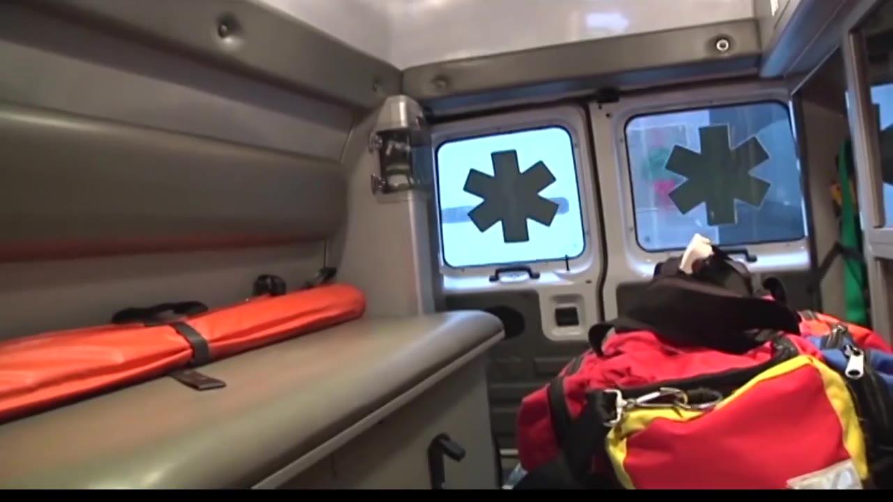 ambulance 911 EMS first responder