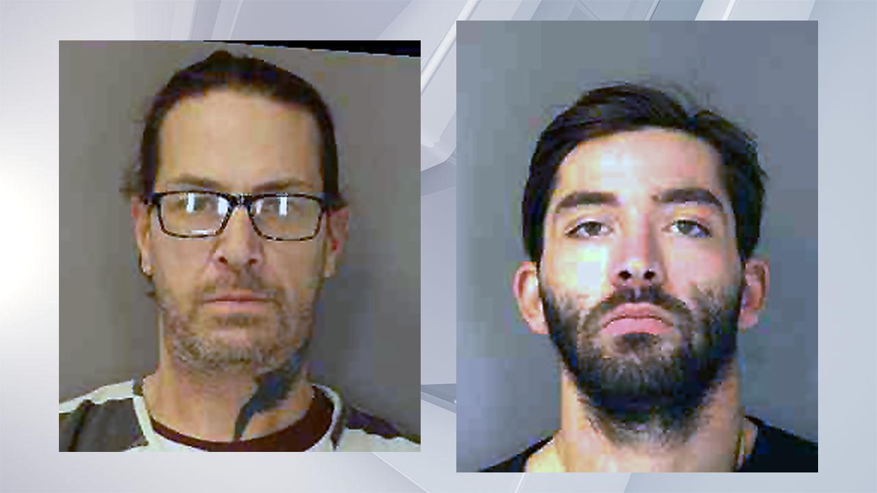 Walecky and Smith mugshots. (Warren County Sheriff's Office)