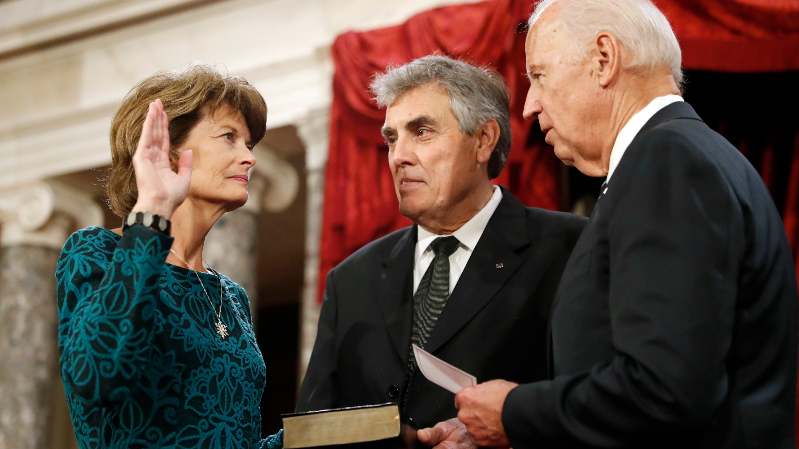 Joe Biden, Lisa Murkowski, Verne Martell