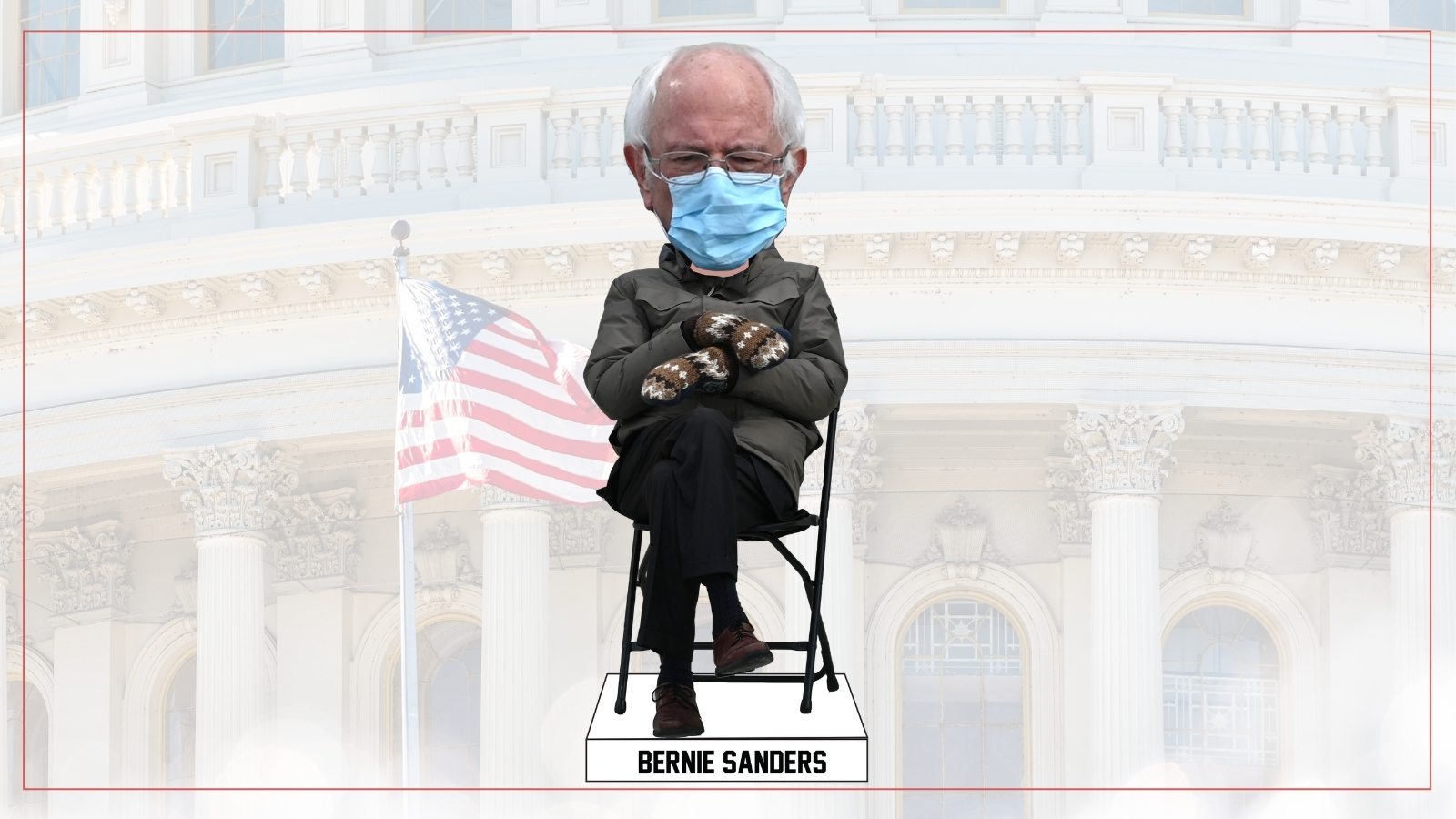 Bernie Sanders Inauguration Day bobblehead unveiled