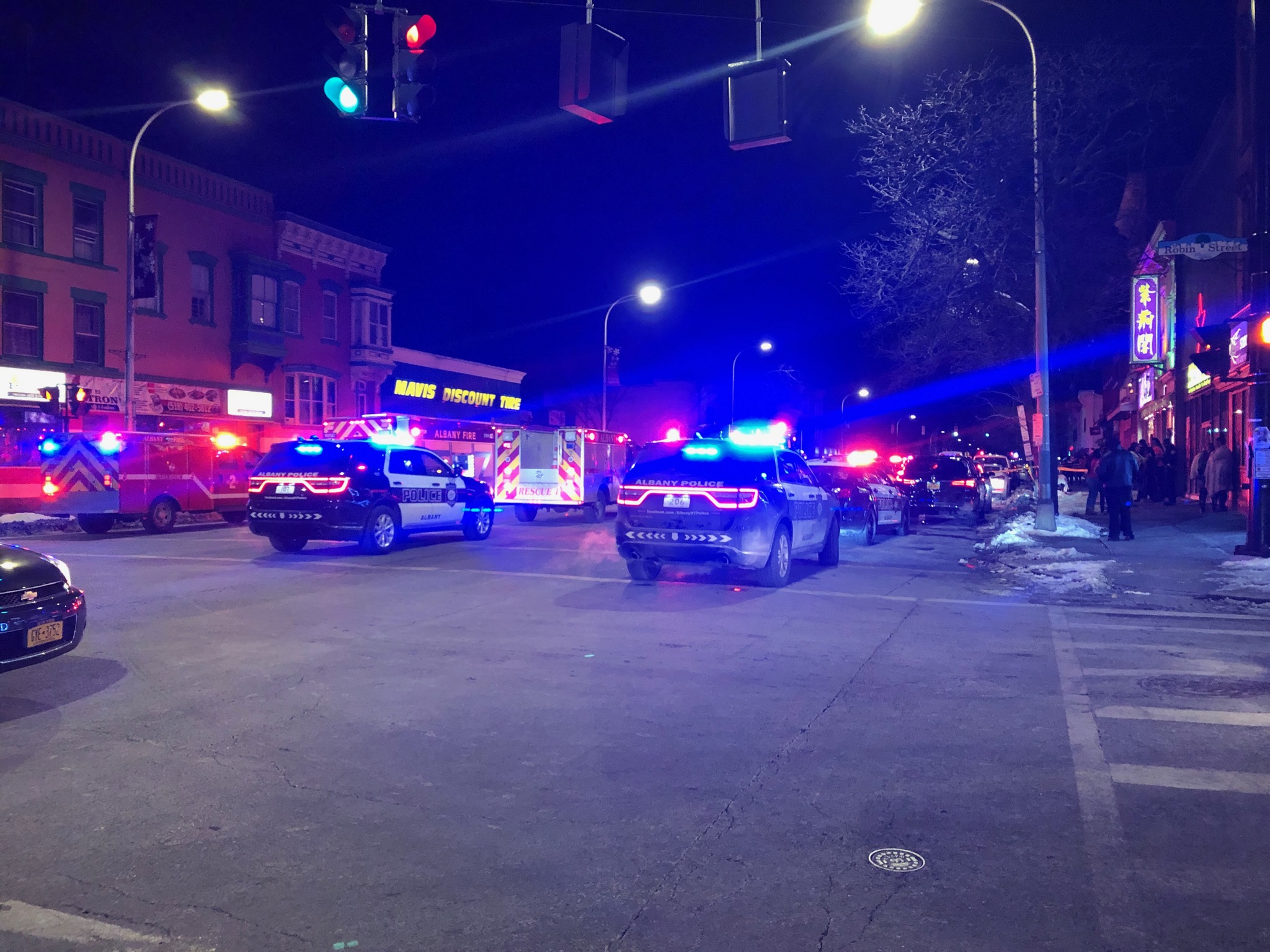 Five Injured During Central Avenue Shooting