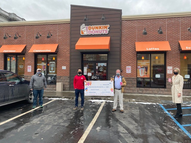 Dunkin Joy in Childhood Foundation grant 1