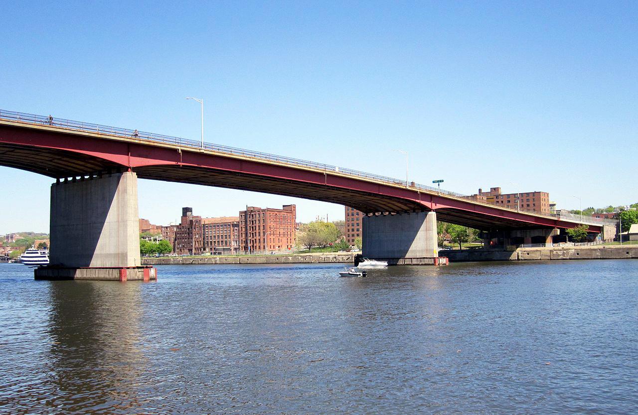 Congress Street Bridge from Watervliet
