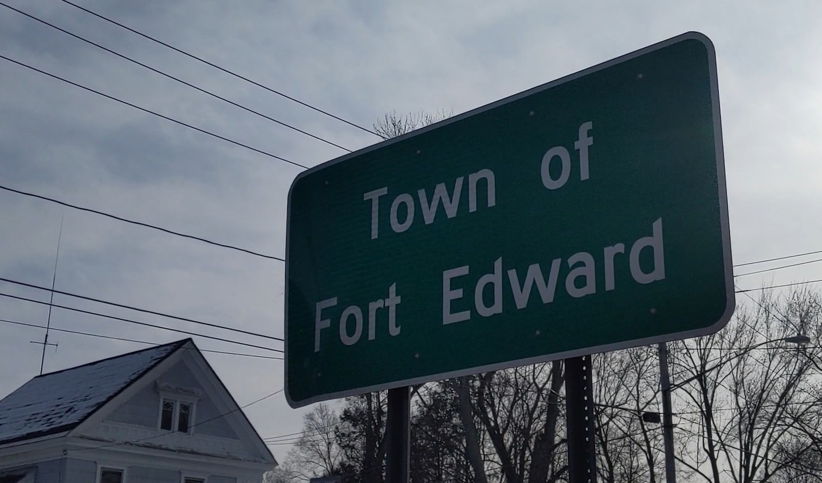 fort edward sign