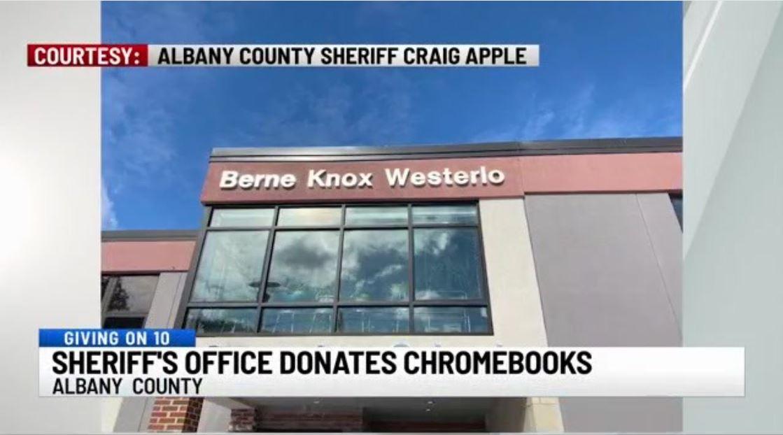 Albany County Sheriff Chromebooks