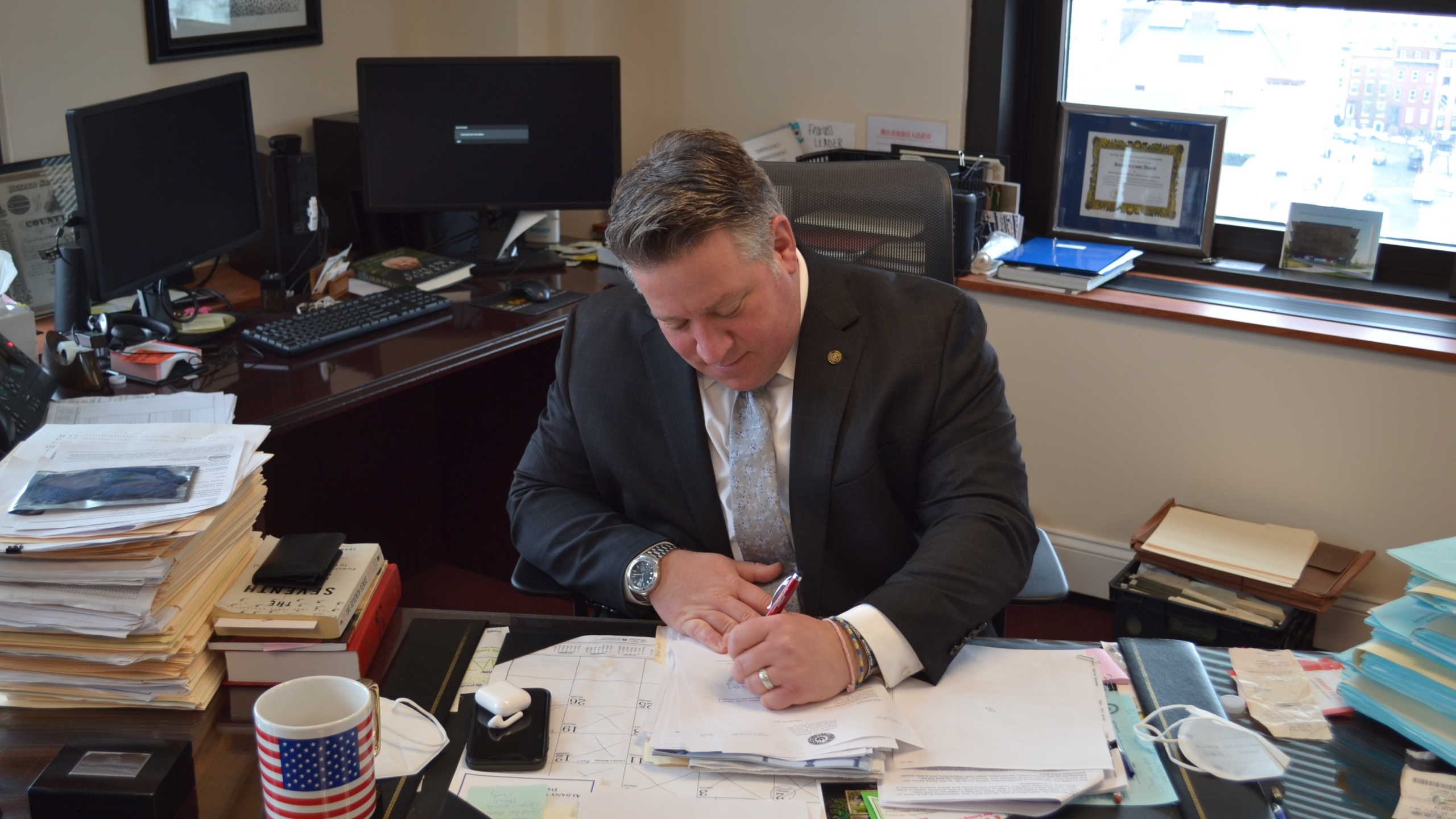 Albany County Executive McCoy signs laws