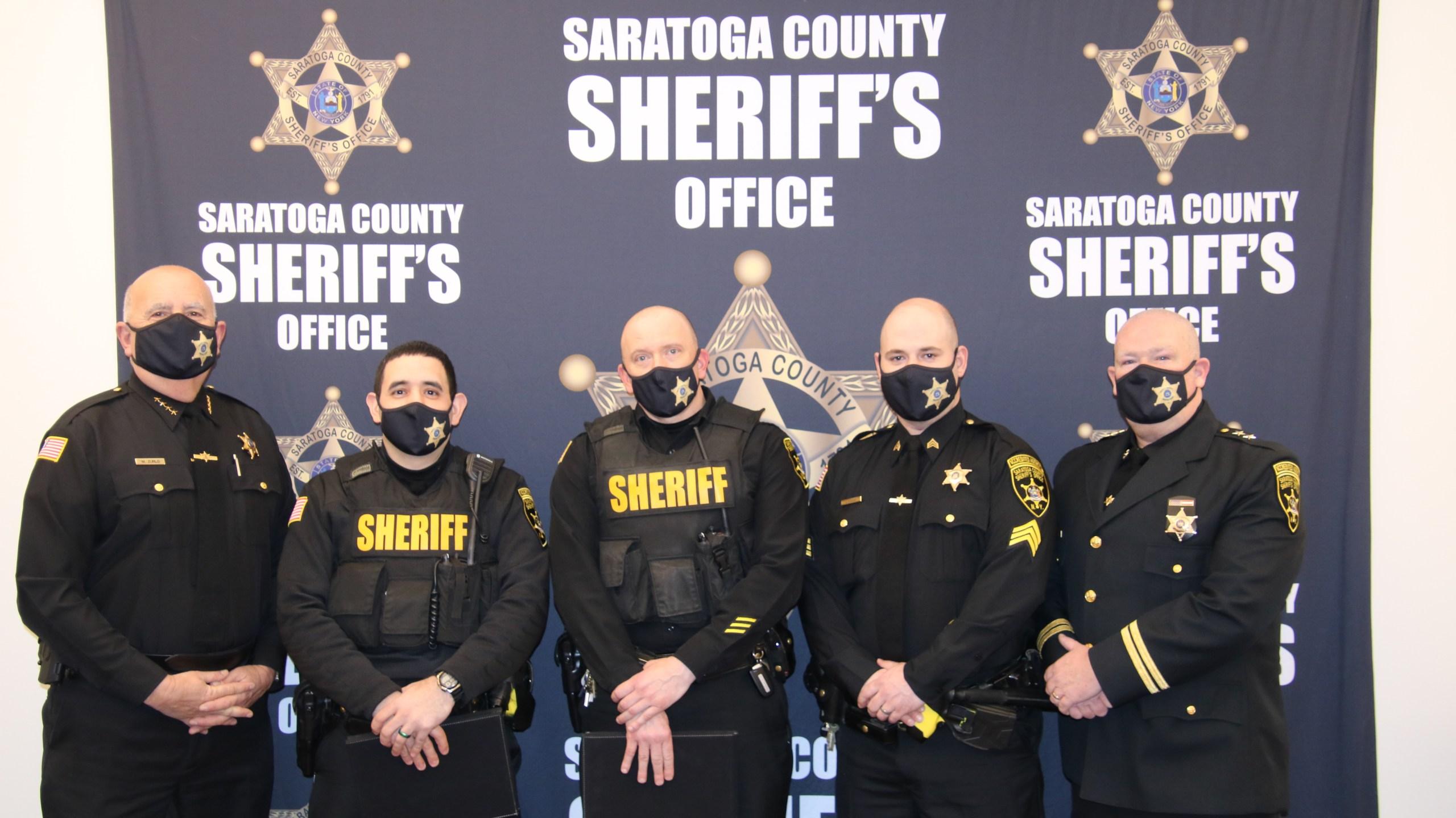 Saratoga County Sheriff's Office award