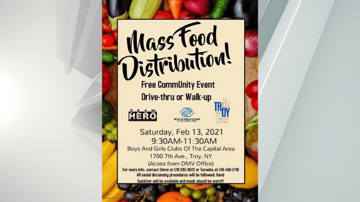 Troy Mass Food Feb 13