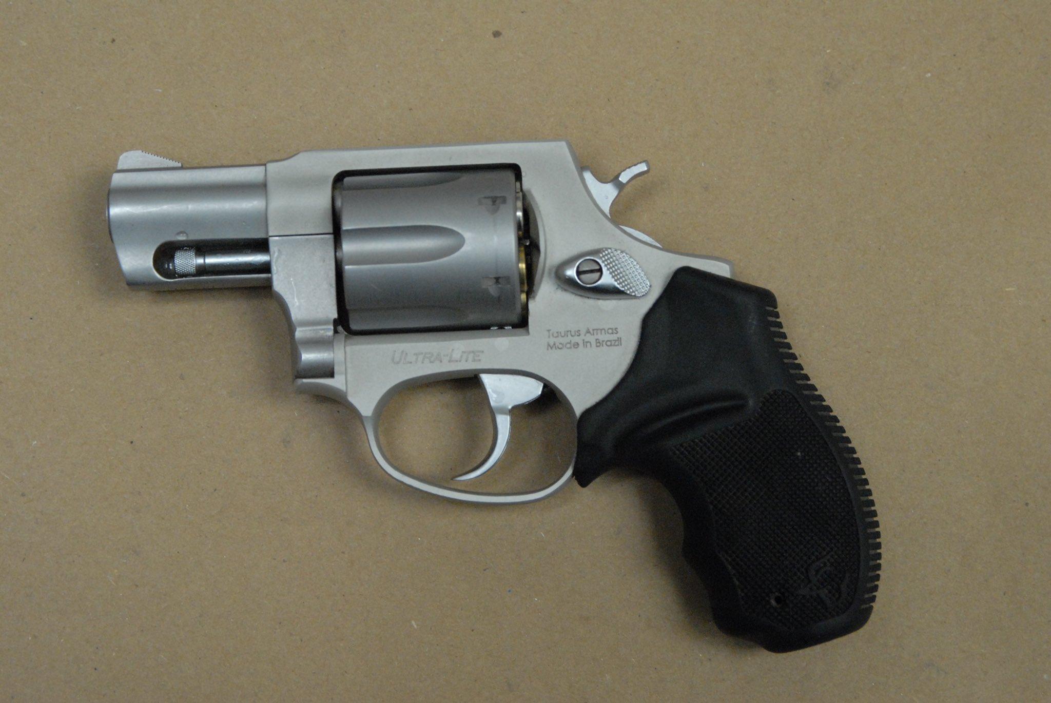 Wonka marijuana loaded .38 caliber revolver