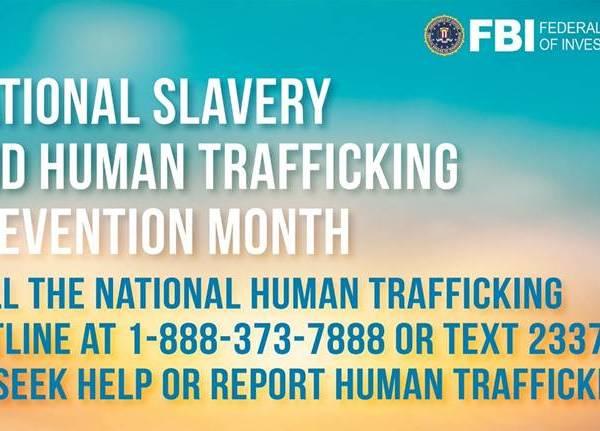 fbi human trafficking