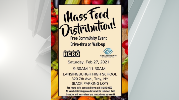 troy food distribution