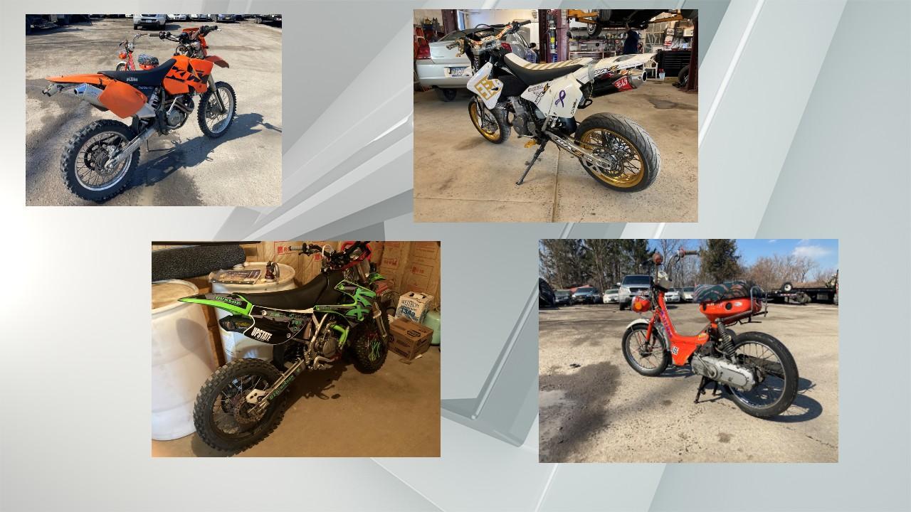 APD seize dirt bikes