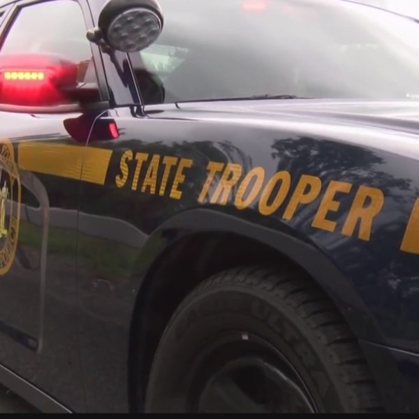 New York State Trooper car