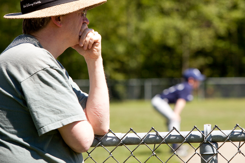 Parent watching Little League game. (Henry Alva / Flickr / CC BY-NC-ND 2.0)